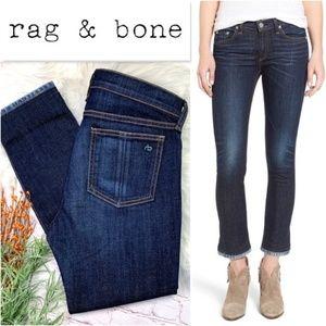 👖NWOT I•RAG & BONE•I Serrano Crop Jeans 28x25👖